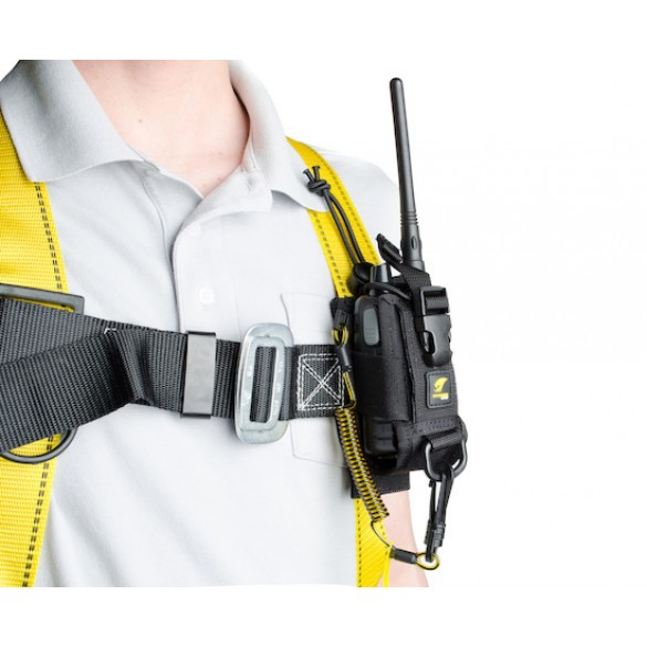 3M Adjustable Radio Holster with Clip2Loop Coil and Micro D-Ring
