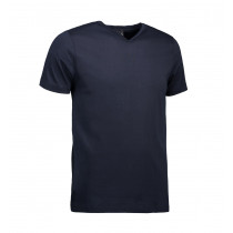 ID T-TIME T-shirt V-hals Navy