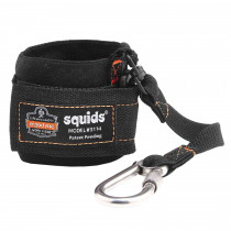 Ergodyne Squids® 3114 Pull-On Wrist Lanyard with Carabiner - 3lbs