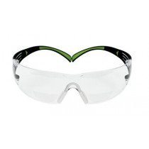3M Securefit 400 reader safety glasses +2,0