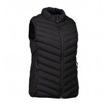 ID Stretch dame bodywarmer Sort