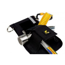 3M™ DBI-SALA® Hammer Holster, Belt with Hook2Quick Ring Coil Tether with Tail 1500094, 1 EA
