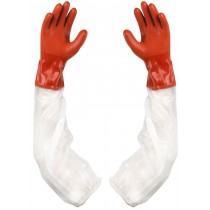 Showa Atlas 640 Long Sleeve Double Dipped PVC Gloves - 5 par