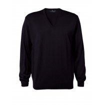 Clipper V-neck Pullover - herre model - Navy