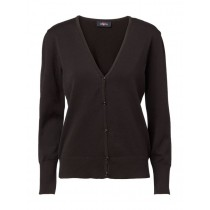 Clipper V-neck Cardigan Cotton - dame model