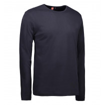 ID Interlock T-shirt Langærmet Navy